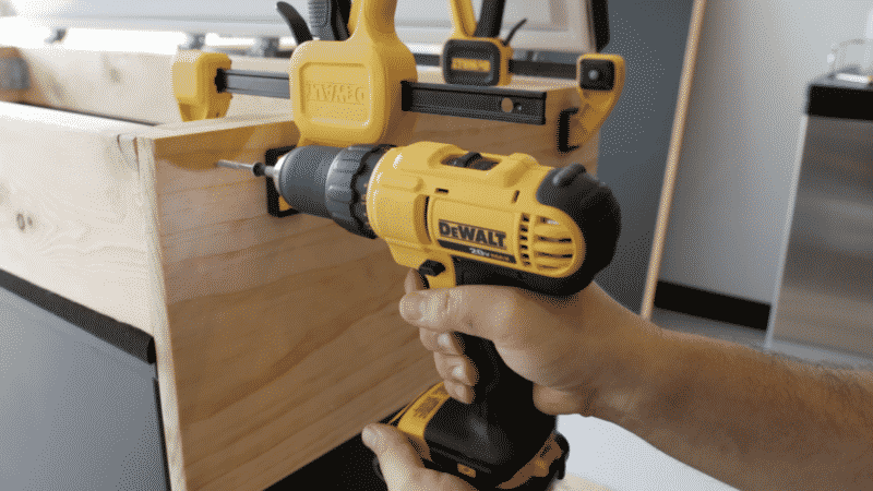Attaching Facial Board with Wood Screws
