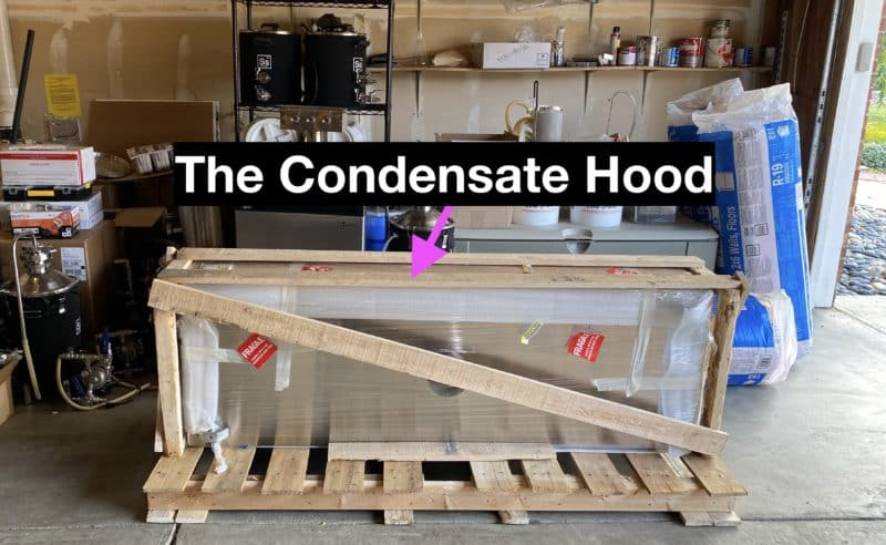 Condensate Hood Delivery