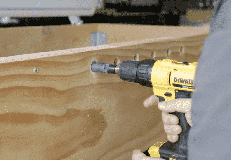 Drilling Faucet Shank Holes with Hole Saw