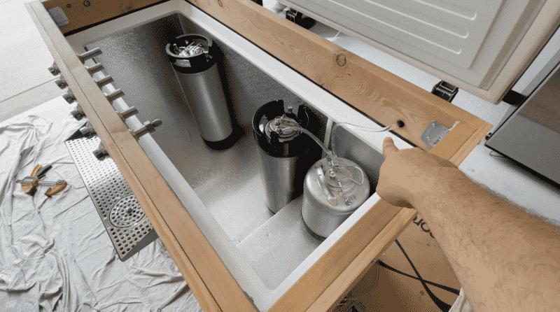 Glass Rinser Line Hookup