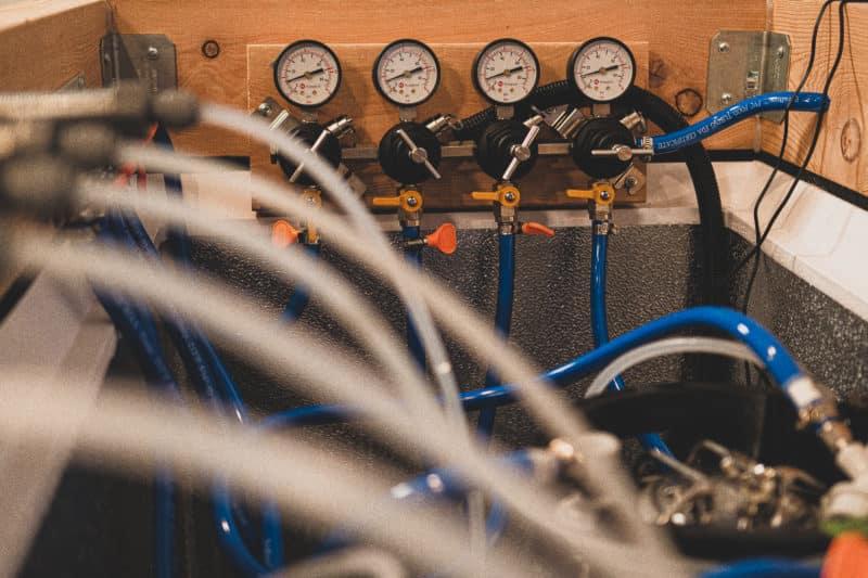 Keezer Secondary Regulator for CO2 Gas