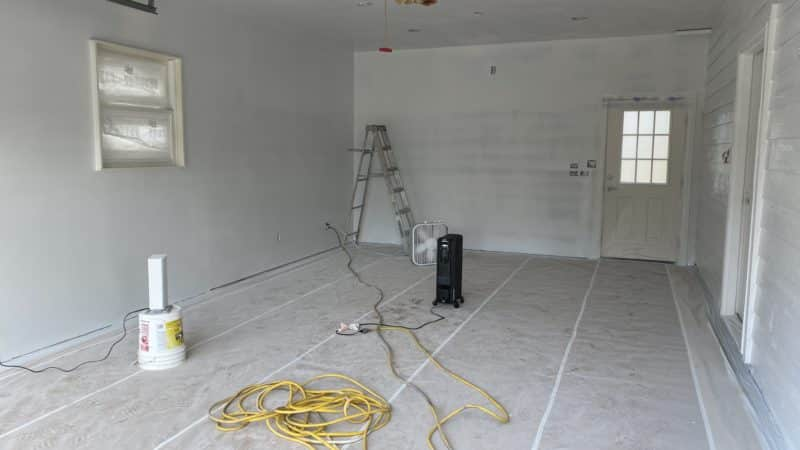 Primer Coat in Home Brewery