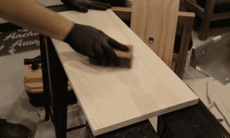 Sanding Facial Boards
