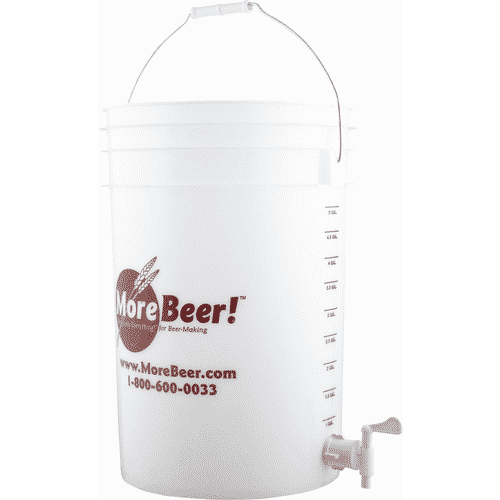 Plastic Brew Bucket with Spigot – 6 gal.