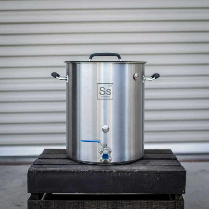 Ss BrewTech Stainless Steel 10-Gallon Brew Kettle
