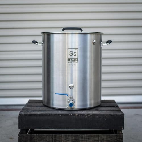 Ss BrewTech Stainless Steel 15-Gallon Brew Kettle