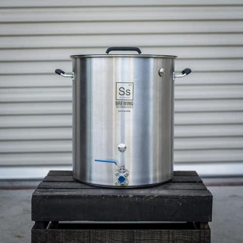 Ss BrewTech Stainless Steel 15-Gallon Brew Kettle