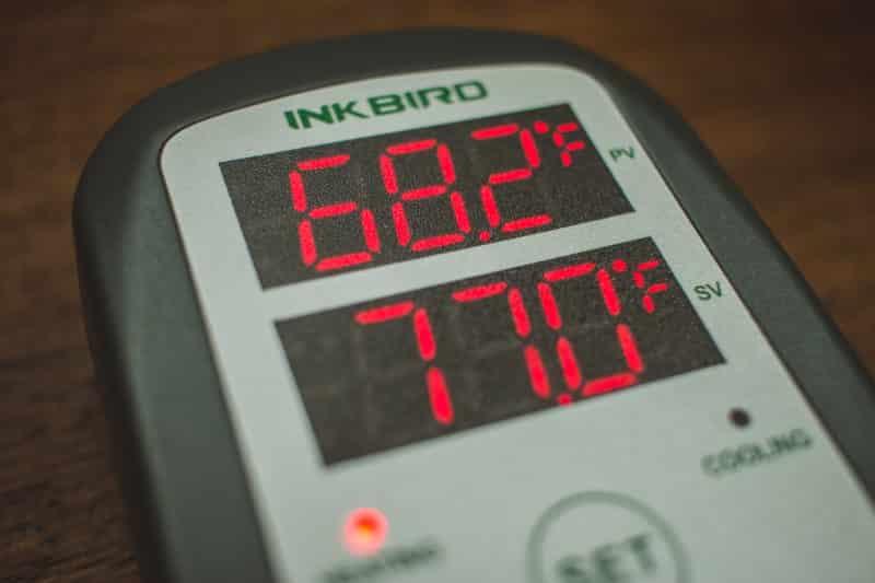 Temperature Controller Homebrew